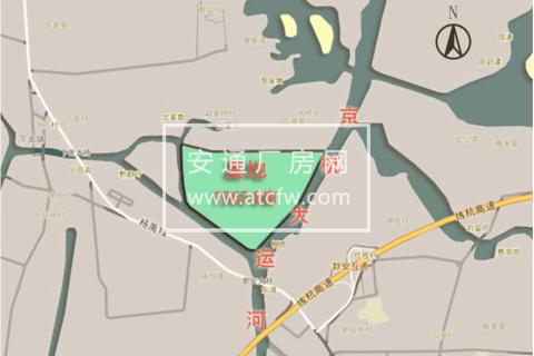 杭州北,离杭州市区15公里处,低价出售50年独立产权独栋厂房