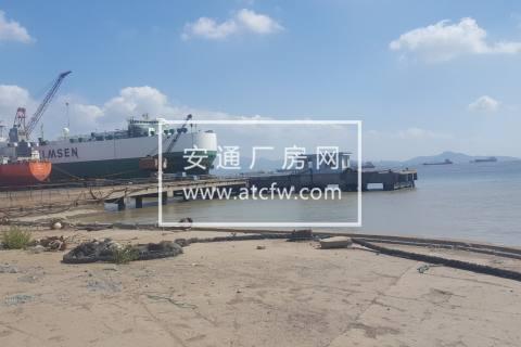 舟山小干岛80亩厂区出租合作有码头