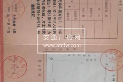 宿豫/宿城区湖滨新城晓店镇晓店街3005方土地出售