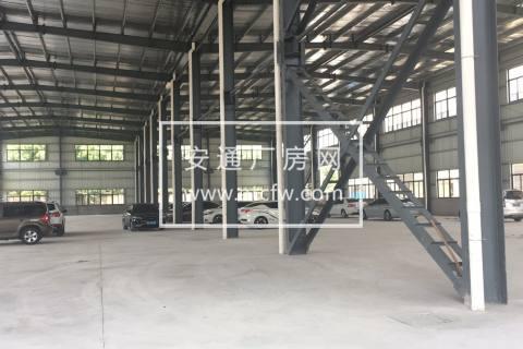 钟管新建3000方单层钢架厂房出租(可装行车)