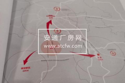 固安县距离雄安50公里7000方土地出售