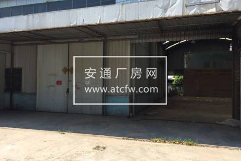 2700方青村单层钢架厂房出租