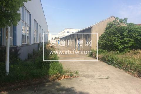 江苏海安58亩土地厂房出售