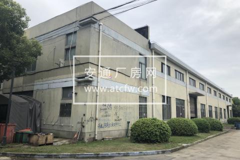 原房东出租青浦赵巷崧泽大道力惠工业园区厂房