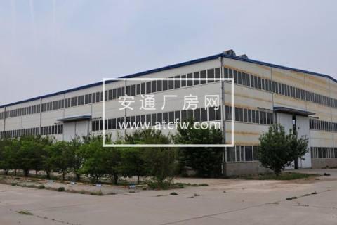 西青104国道和西青道交口厂库房招租,带天车和环氧地坪漆