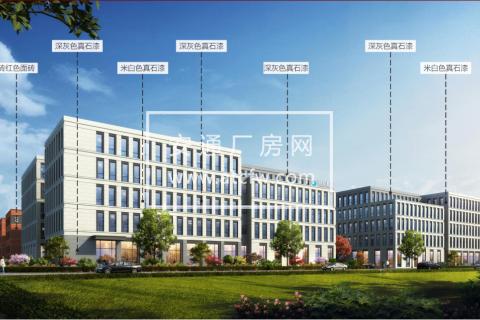 谷里街道 小户型标准厂房 首付80万 可生产研发办公