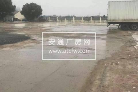 浦东区60亩方土地出租,三合土硬化