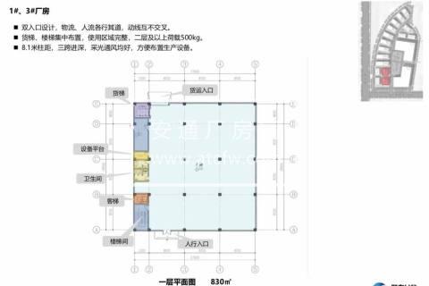 闵行景谷路104板块绿证50年产权人工智能产业园