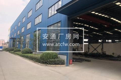 泗港1700平标准机械厂房 配有10吨行车 环境好