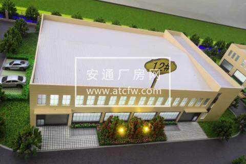 张家港市独栋双层2390平方机械厂房