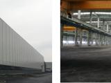 东西湖临空港经济开发区150吨行车重钢厂房