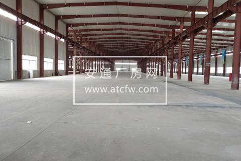 【独门独院】【17000平厂房+精装修办公楼】【钢结构企业拎包入住】