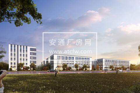 上虞万达广场附近2000平方全新园区框架厂房出售,可分层,开发商直售