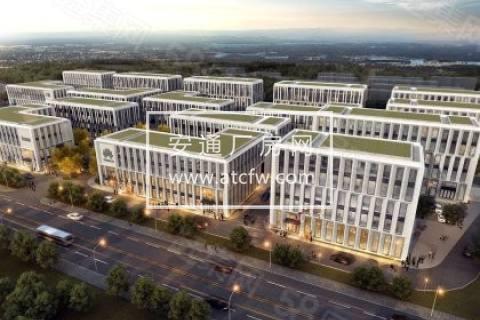 江北星火路地铁口50年产权全新花园式工业厂房出售