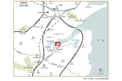宁海大佳河工业园区(宁海万洋众创城)