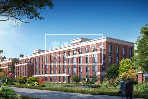 宁河现代产业园厂房出售-沿河景观 自带院落 独立产权