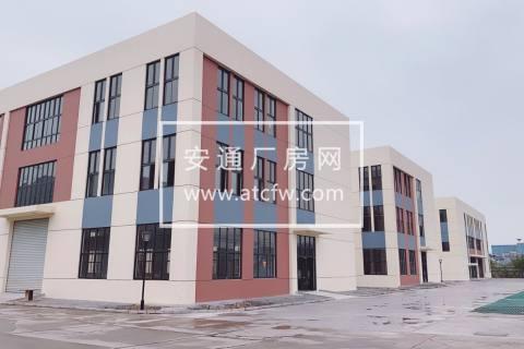 出租 张家港政府园区全新高标准厂房 0.4元/平/天 可分割